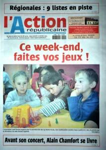 Action Répaublicaine 19/02/2010